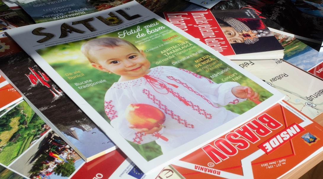 東欧ルーマニアでジャーナリズムインターンが出版に携わるSatul